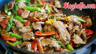 oseng daging kambing