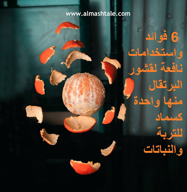 فوائد قشور البرتقال orange peel