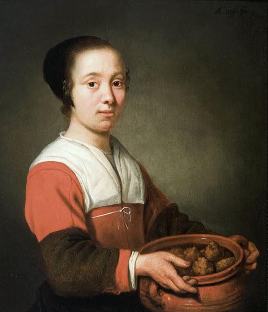 Альберт Кёйп - Служанка с пончиками