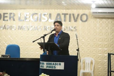 Entrevista com o vereador Elcinho, pré-candidato a prefeito de Pedreiras