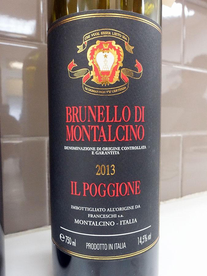 Il Poggione Brunello di Montalcino 2013 (92 pts)