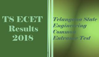 ECET Results 2018 | TS ECET Results | Telangna ECET 2018 Results