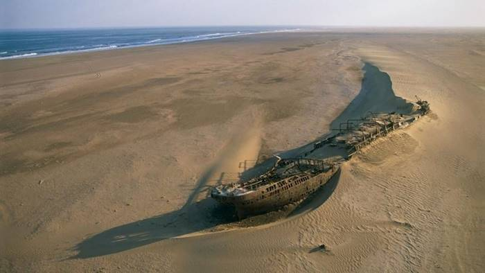 The perfect beach for a post-apocalyptic festival