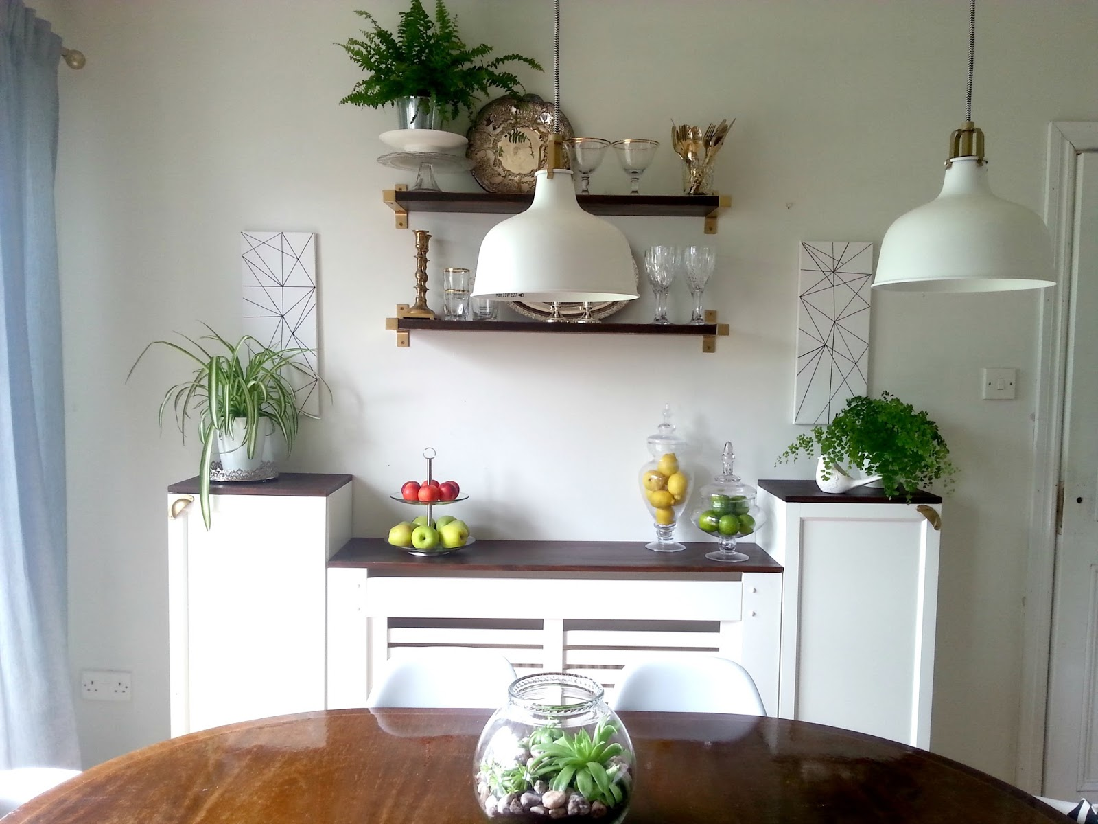 Ikea Hack Bookcase: Ikea-hack For Built-in Dining Room Storage...when You Have