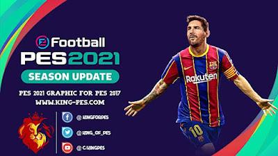 PES 2021 Graphic Menu