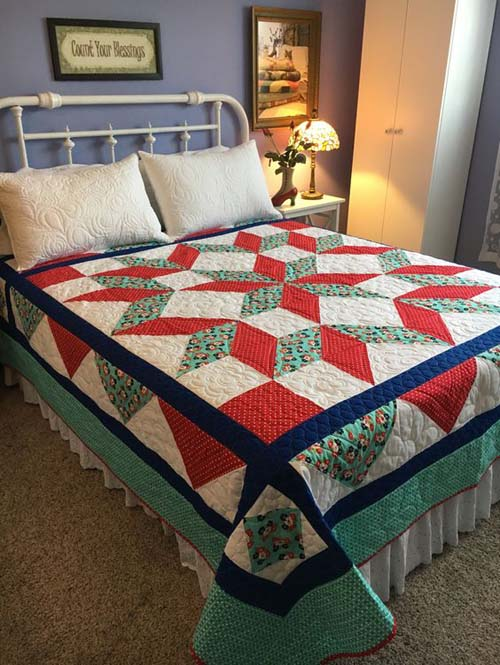 Carpenter Star Quilt - Free Pattern
