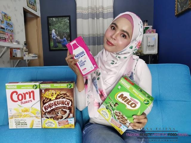 Sarapan Sihat Nestle Cereals | Pelbagai nutrisi, mineral penting dan vitamin