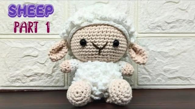 Amigurumi Ovejita a Crochet