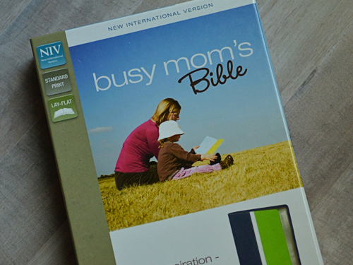 Finding Time in the Bible for Busy Moms