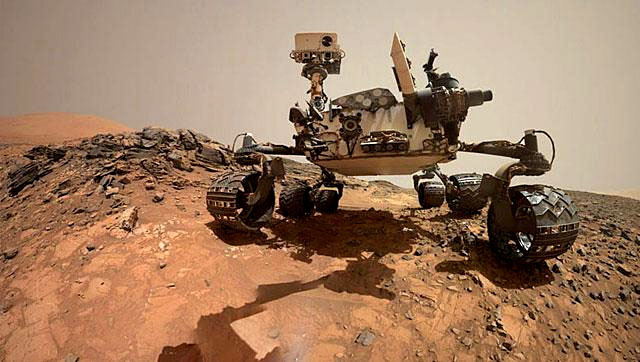 rover curiosity da nasa