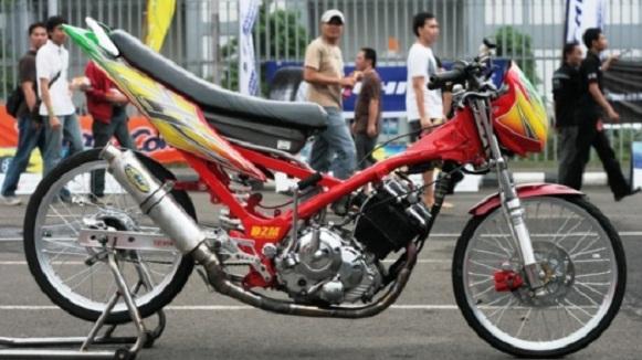 Modifikasi Suzuki FXR150 2006