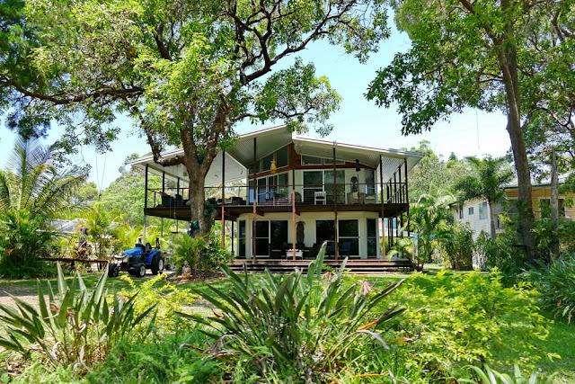 Haus Kooringal Dorf Moreton Island tropisch leben Insel