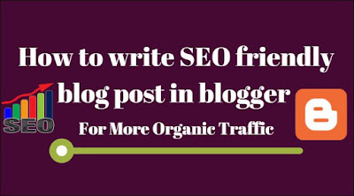 How to Get Organic Traffic for our blog