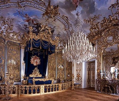 Palacio de Linderhof (dormitorio), Baviera, Alemania