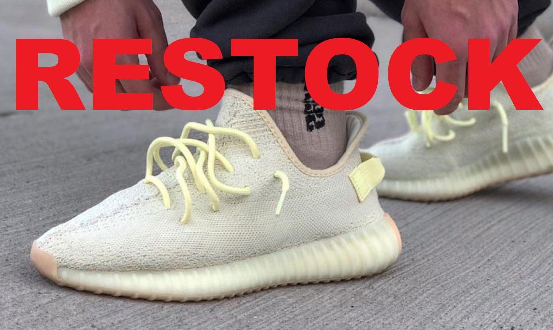 THE SNEAKER ADDICT: adidas Originals Yeezy 350 Butter Restocks