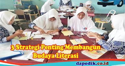 Strategi Penting Membangun Budaya Literasi di Lingkungan Sekolah
