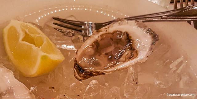 Ostras de The Oyster Bar, Nova York