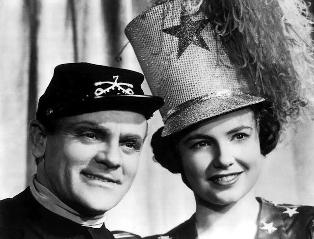 James Cagney e Joan Leslie in «Ribalta di gloria» di Michael Curtiz 88ef7ea11cec