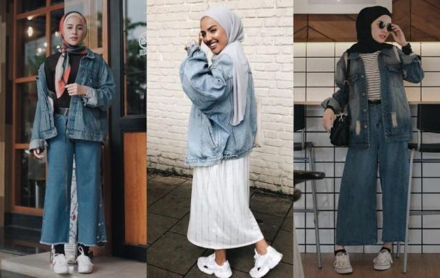 5 Tips Jaket Jeans untuk Outfit Kuliah