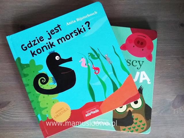 Genialne książeczki z okienkami, wydawnictwa Adamada