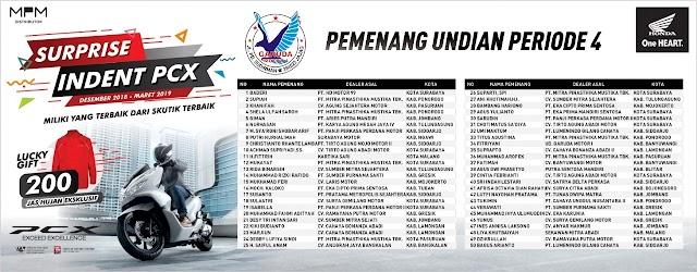 Pemenang Undian Inden PCX150 Berhadiah Jas Hujan Eksklusif ke-4