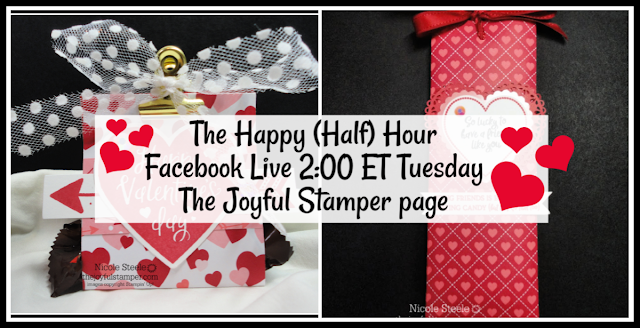 The Happy (Half) Hour Facebook Live | 2 ET every Tuesday on The Joyful Stamper Page