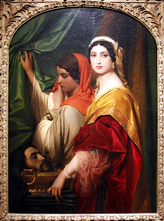 Иродиада с главата на Йоан Кръстител - Пол Деларош, 1843 г.