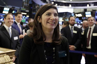 Spotlight: NYSE Names First Woman Chief In Exchange's 226-year History