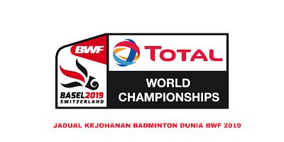 Keputusan Kejohanan Badminton Dunia BWF 2019 (Jadual)