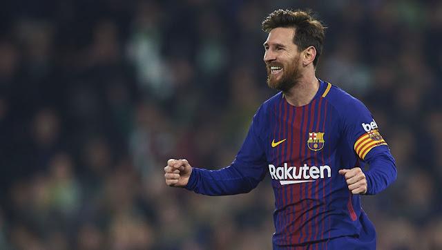 L'action de classe de Messi qui a mis le stade du Betis à genoux