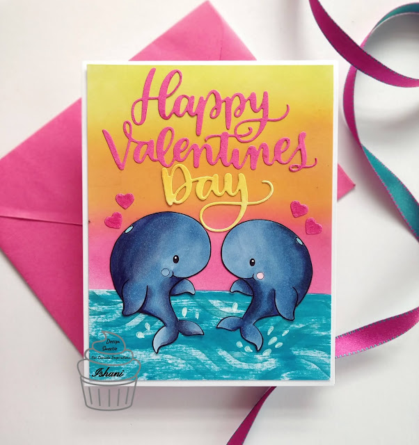Valentine's day card, Critter card, Love card for valentine's, Quillish