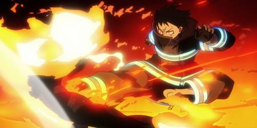 kekuatan api anime Shinra Kusakabe (Fire Force)