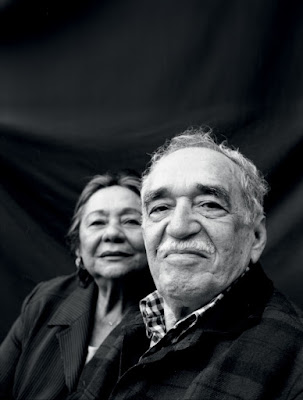 MÁRQUEZ AND HIS WIFE-MERCEDES BARCHA
