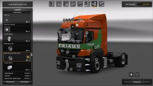 Truck - Mercedes Benz Axor with addons