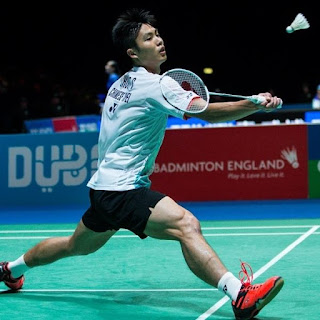 8 Pemain Tunggal Putra di BWF World Tour 2018