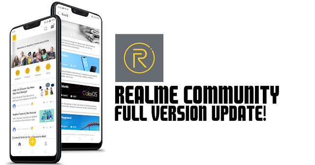 Realme Community FINAL App for Android APK! - Sobat Realme