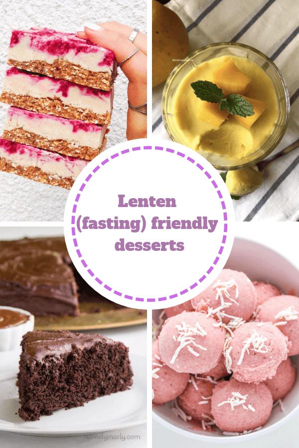 Orthodox Lenten Dessert Recipes