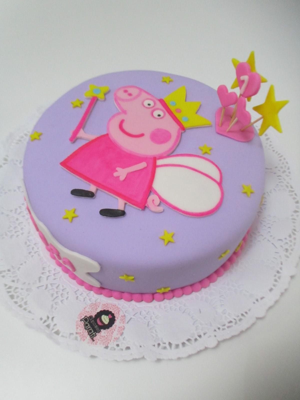 Cupcakes parati : Peppa Pig Cake