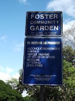 Foster Community Garden rules - Honolulu, HI