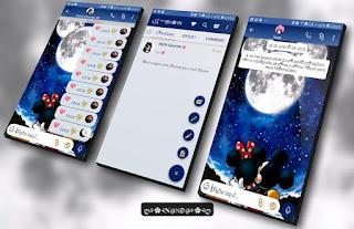 Minnie Mickey Night Theme For YOWhatsApp & Fouad WhatsApp By Nanda