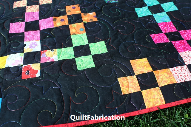 Jax quilting by QuiltFabrication