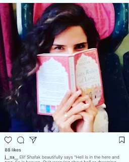 The forty ruels of love by Elif Shafak on Nikhilbook