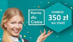 350 zł za konto Credit Agricole