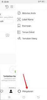 How to change Instagram language to Indonesian