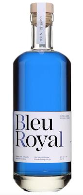 bouteille de gin BleuRoyal
