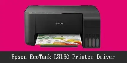 Epson EcoTank L3150 Printer Scanner Driver Download