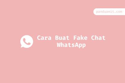 Cara Membuat Fake Chat Whatsapp Lucu di Android
