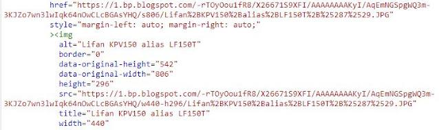 URL Gambar Pertama di Tiap Postingan