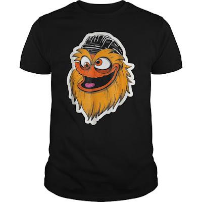 Gritty Mascot Face T Shirts Hoodie Sweatshirt