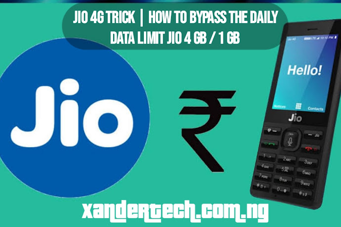 JIO 4G Trick | How to bypass the daily data limit JIO 4 GB / 1 GB